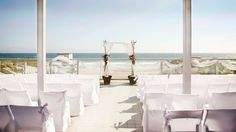 Let the Crashing Waves and Warm California Sun Create a Romantic Atmosphere for you're Malibu Wedding Ceremony