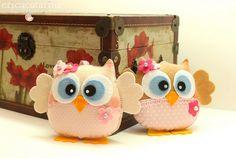 Owls - Coisas de zoiudinhas by Ei menina! - Erica Catarina, via Flickr.