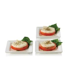 Libbey Just Tasting Square Plate Set Ceramic 13 Pcs 12 Plates and 1 Recipe Card Square Plate Set, Plate Sets, Mini Appetizers, Pepper Jack Cheese, Party Food And Drinks, Ceramic Plates, Food Plating, Recipe Cards, Meals For One