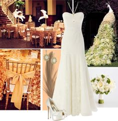 Vintage Glam: Great Gatsby Inspired Wedding