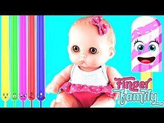 ❤ Куклы Пупсик поет песенку красит шарики Краски и Плей До Учим цвета па...