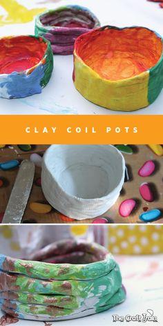 clay coil pots