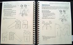 pattern construction, drop shoulder