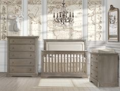 Ithaca collection in Owl Inspired by Mediterranean architecture and epic poems, our oak Ithaca Collection incorporates contemporary lines, top dentil reliefs, etched drawer fascia, notched kickplates and antique knobs. Baby Furniture, Cool Furniture, Furniture Sets, Furniture Stores, Rustic Nursery Furniture, Nursery Furniture Collections, Interior Design Companies, Best Interior Design, Home Decor Shops