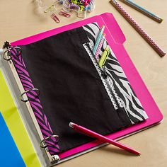 Zippered Pencil Pouc
