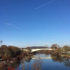 """Witten Ruhrgebiet 22.1 #bluesky #landschaft #like4like #landscape #river #iphone6sphotography #nofilter #nature #naturelovers #skyporn #skylovers #witten#ruhrtal #Ruhrgebiet #love_ruhrgebiet #ig_nrw #loves_united_germany #follow #beautiful #cool #januar2016 #winter#bluewater by molto_11 Follow """"DIY iPhone 6/ 6S Cases/ Covers/ Sleeves"""" board on @cutephonecases http://ift.tt/1OCqEuZ to see more ways to add text add #Photography #Photographer #Photo #Photos #Picture #Pictures #Camera #Only #Pic…"""