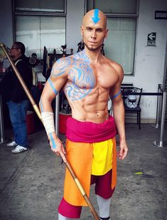 Mastering all of the elements is one hell of a workout | Credit: elfficosplay : TheLastAirbender