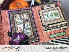 Rare Oddities Tri-Fold Brag Book, Rare Oddities, by Danielle Copley, product by Graphic 45