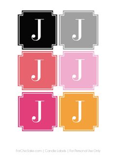 free customizable candle printables use for favors also...