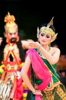 Rama sinta ballet performance at Prambanan Temple, Yogyakarta -Indonesia