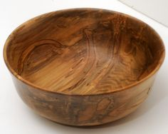 As a woodturner, I could only marvel as I turned this Ambrosia Maple bowl. The patterns in the wood, enhanced by the patterns left by the