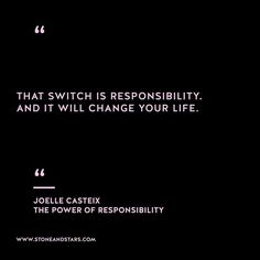 Book of the week The Power of Responsibility: Six Decisions That Will Help You Take Back Happiness and Create Unlimited Success by Joelle Casteix #hustle #book #motivation #inspiration #entrepreneur #girlboss #boss