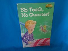 Vintage 1990 No Tooth, No Quarter! book by Jon Buller and Susan Schade a step into reading step 3 book grades 2 - 3 by TheVintageKeepers on Etsy