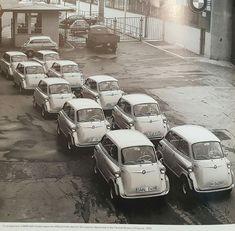 Strange Cars, Bmw Isetta, Fiat 600, Miniature Cars, Teardrop Trailer, Future Car, Old Cars, Motorbikes, Classic Cars