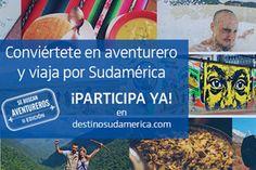 concurso latam para viajar por 3 meses na america do sul tem área de cultura e arte. Tem que relatar a viajem em blog. Cómo viajar tres meses gratis por Sudamérica | otrosmundos | Ocholeguas | elmundo.es