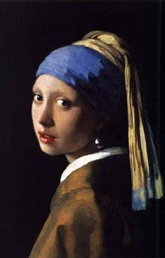 Johannes Vermeer Girl With A Pearl Earring Poster 11x17 – BananaRoad