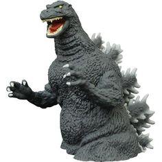 978b9e98a42 Godzilla Classic 1989 Vinyl Bust Bank Godzilla Toys