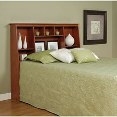 Grendel eastern king bookcase bed with footboard storage and hutch headboard by coaster - Tete cherry bed ...