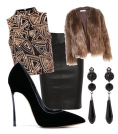 """""""Untitled #481"""" by heden-fun ❤ liked on Polyvore featuring Joseph, Glamorous, Givenchy, Related and Casadei"""