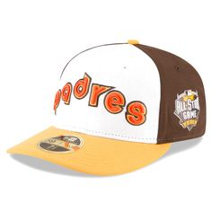 San Diego Padres New Era Home Run Derby 2016 Authentic Collection Low Profile 59FIFTY Fitted Hat with Patch - White - $30.39