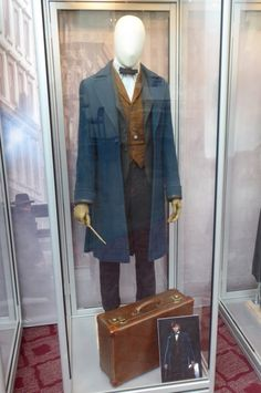 Newt Scamander Fantastic Beasts and Where to Find Them film costume