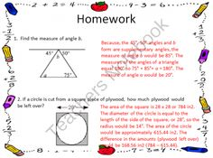 7th Grade Math Common Core Aligned Homework for the Year from Middle Grades Math on TeachersNotebook.com (72 pages)  - 7th Grade Math Homework for the Year!