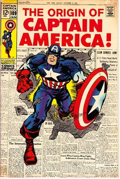 Captain America #109 (1968 1st Series) January 1969    Marvel Comics   Grade Fine