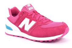 NEW BALANCE KL574CZG FUXIA BIANCO SMERALDO TURCHESE 574 Sneakers Donna Running