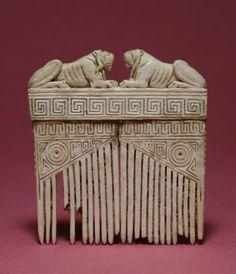 Pettine etrusco. VI-V sec. a.C.T he Walters Art Museum