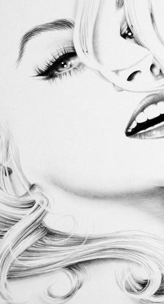 Zeichnung Marilyn Monroe, Marilyn Monroe Dibujo, Marilyn Monroe Drawing, Marilyn Monroe Artwork, L'art Du Portrait, Pencil Portrait, Pencil Art Drawings, Art Drawings Sketches, Amazing Drawings