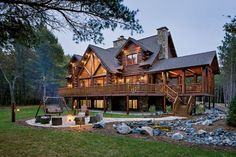 Beautiful Log House