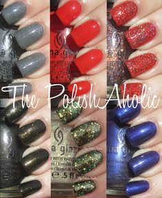 China Glaze's Wicked Collection for Halloween 2012