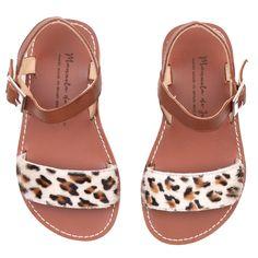 Manuela De Juan Leopard Sandals | Scandinavian Minimall