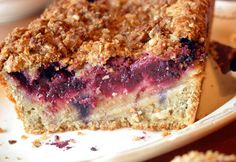 Hunk o' Fruit: Bill Granger's Oat, Pear, and Raspberry Loaf | The Kitchn