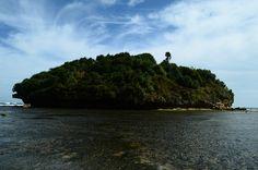 Drini Beach, Gunung Kidul, Yogyakarta, Indonesia.