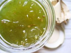 Jam of Green Tomatoes And Apples Lemon Jam, Sweet Recipes, Snack Recipes, Compote Recipe, Go Veggie, Oranges And Lemons, Green Tomatoes, Food For Thought, Food Porn