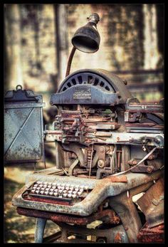 Old Linotype