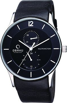 OBAKU V157GMCBRB Men's Classic Analog Watch with 3 Hands