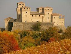Torrechiara Castle, Langhirano, province of Parma, Italy - www.castlesandmanorhouses.com