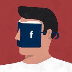 Face book. Literally.