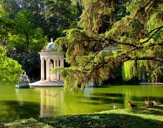 Temple of Diana, Villa Durazzo Pallavicini, Italy - Genoa Beautiful World, Beautiful Gardens, Beautiful Places, The Places Youll Go, Places To Go, Parks, Dream Garden, Belle Photo, Dream Vacations