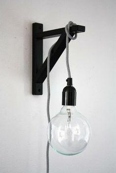 Wandlampe - Ikea Regalkonsole