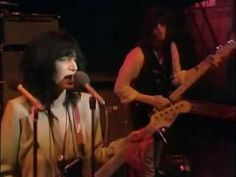 "From the UK's ""Old Grey Whistle Test"" TV program,1978; here's the Patti Smith Group performing ""Horses / Hey Joe""."