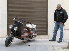 RAT ROD Vespa - Lsr Bikes