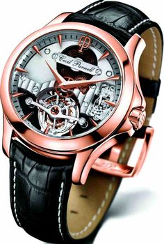 Cecil Purnell Presents CP 3888 Tourbillon Watch Watches Channel