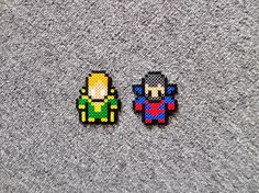 Long Black Fingers : Banshee and Black Tom Cassidy Perler Beads
