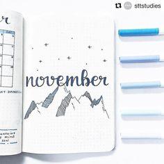 November spread by @sttstudies