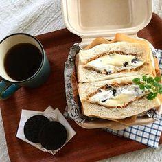 生クリームた~っぷり♪ミルキーな「スイーツサンドイッチ」 Japanese Food, Sandwiches, Cooking, Ethnic Recipes, Blog, Kitchen, Japanese Dishes, Blogging, Paninis
