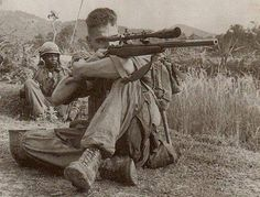 Carlos Hathcock Most famous Vietnam sniper with 93 confirmed kills
