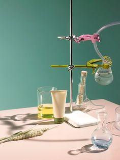 Stock Photo : Beauty Science Lab
